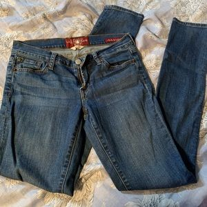 Lucky Brand Charlie Skinny Jeans Size 2